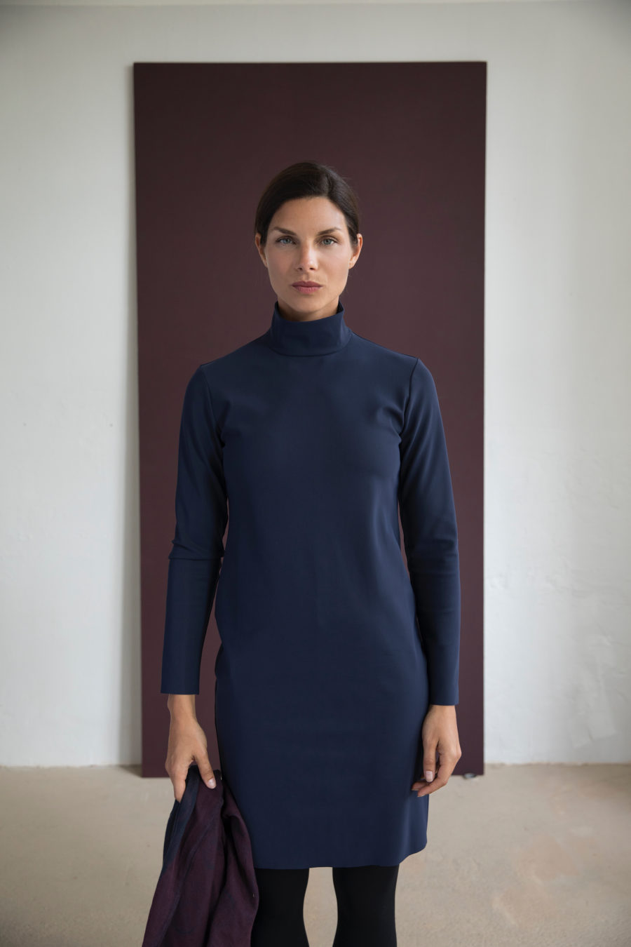 Aura Dress - Bonded Italian Jersey