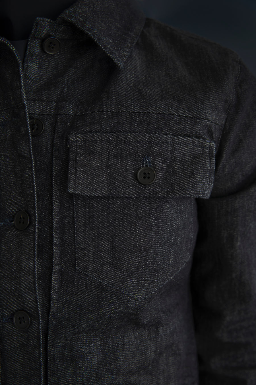 James Jacket - Denim Stretch