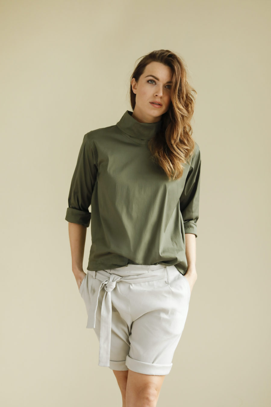 Mabel Short Linen