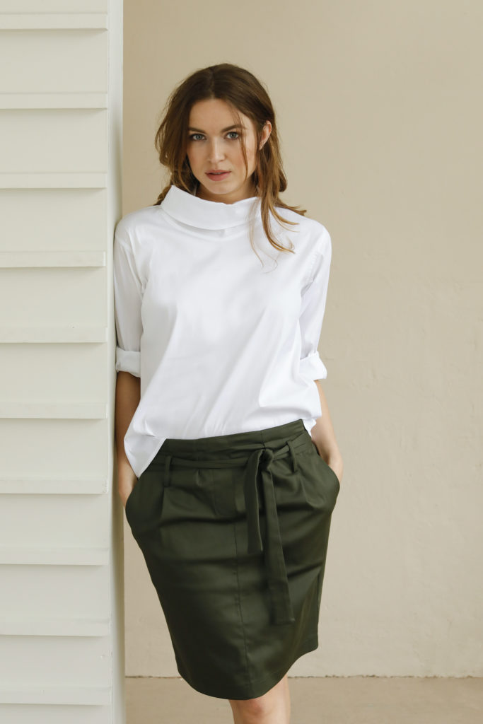 Moma Skirt Cotton Stretch