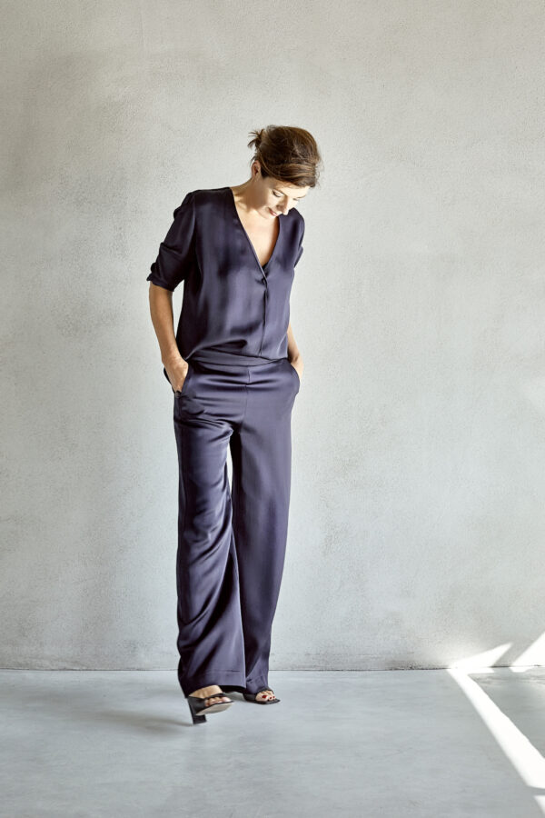 Lizzy Satin Trousers
